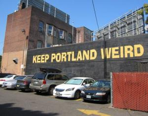 Keep Portland Weird Wall 6